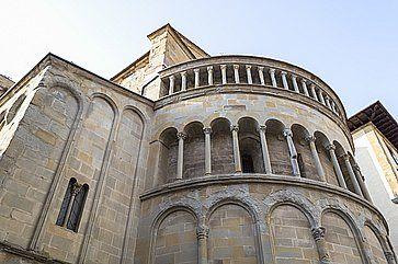 La Chiesa di Santa Maria della Pieve ad Arezzo.