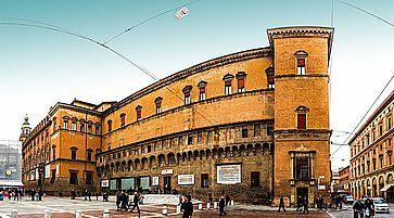 Biblioteca Salaborsa a Bologna.
