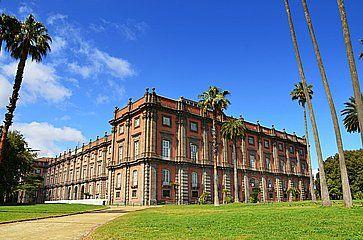 Il Museo Nazionale di Capodimonte a Napoli.