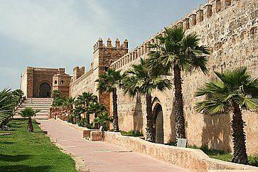 Antiche mura a Rabat.
