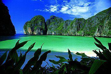 Maya Bay, nelle isole Phi Phi.
