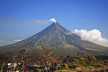 Vulcano Mayon a Legaspi.