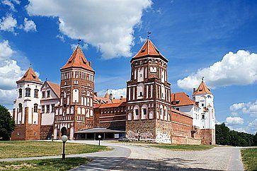 Il castello di Mir.