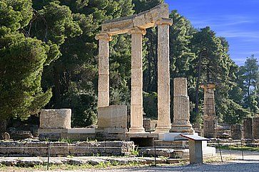 Monumento ad Olimpia.