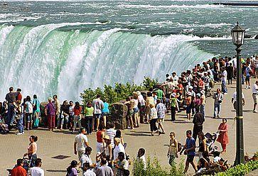 Cascate del Niagara, nel lato canadese.