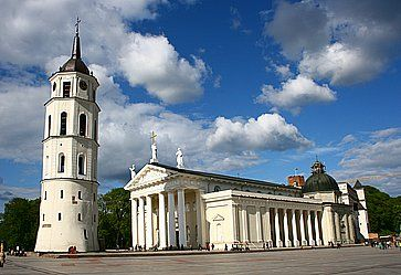 La Cattedrale di Vilnius.
