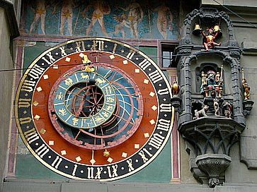 La torre dell'orologio a Berna.