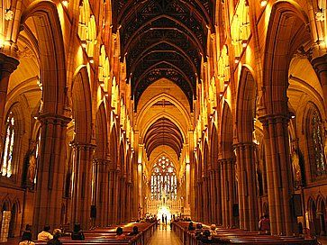 Cattedrale di St Mary a Sydney.