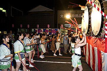 Il festival Nebuta.