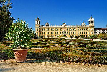 Una bellissima vista del Palazzo Ducale di Colorno, in provincia di Parma.
