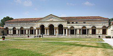 Il Palazzo Te a Mantova.