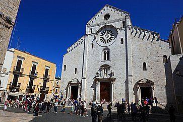 La Cattedrale di San Sabino a Bari.