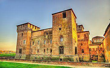 Il castello di San Giorgio a Mantova.