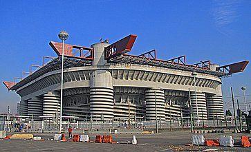 Lo Stadio di San Siro.