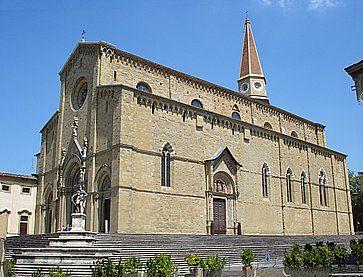 La Cattedrale dei Santi Pietro e Donato ad Arezzo.