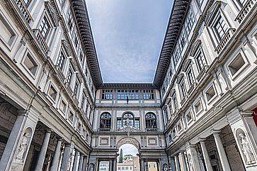 Galleria degli Uffizi a Firenze.