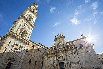 Il Duomo di Lecce.