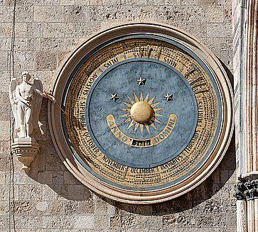 L'Orologio Astronomico a Messina.