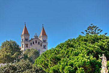 Il Santuario della Madonna di Montalto a Messina.