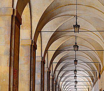 La Loggia del Vasari ad Arezzo.