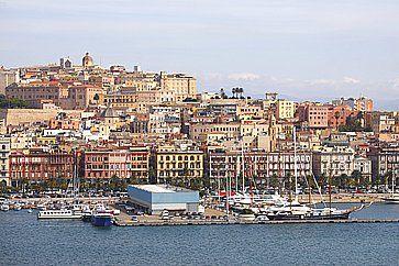 Il Porto di Cagliari.