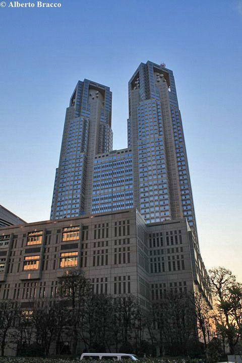Il Tokyo Metropolitan government office