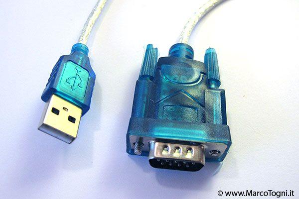 da seriale a USB