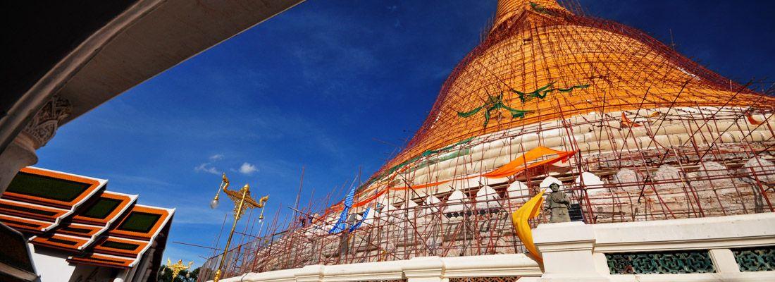 Il Phra Pathom Chedi.