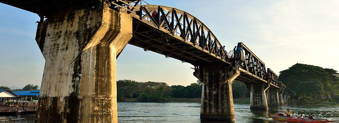 Il ponte sul fiume Kwai.