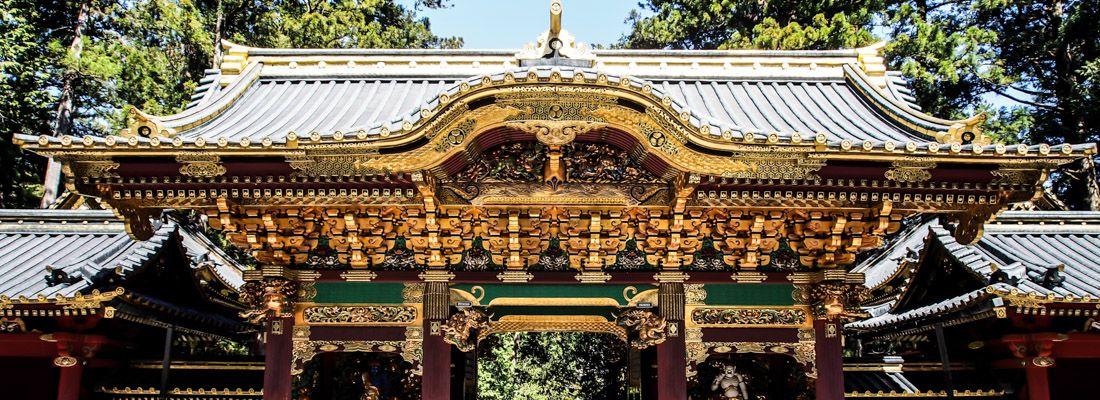 Il santuario Toshogu a Nikko.
