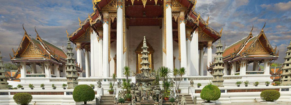 Il tempio Wat Suthat.