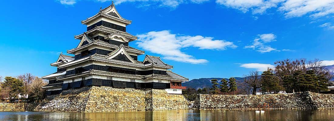 Il castello di Matsumoto.