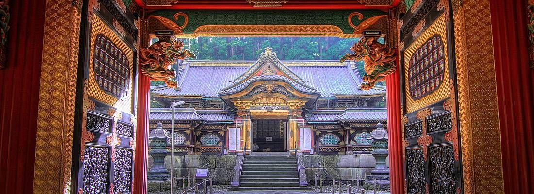 Ingresso di un tempio a Nikko.