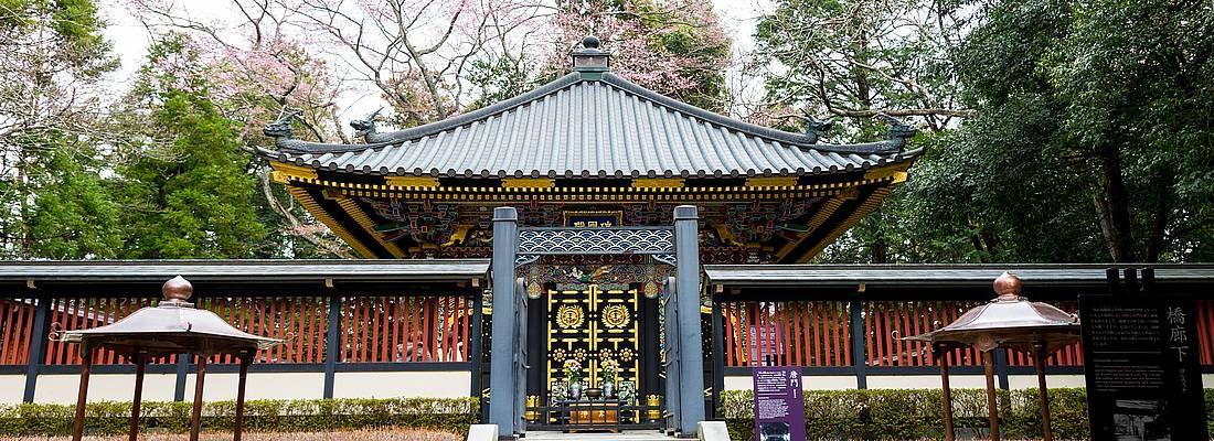 Il Mausoleo Zuihoden a Sendai.