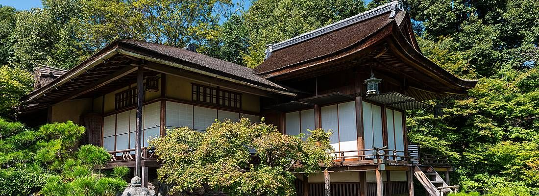 La villa Okoci Sanso a Kyoto.