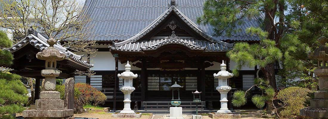 Il tempio Rinnoji a Sendai.