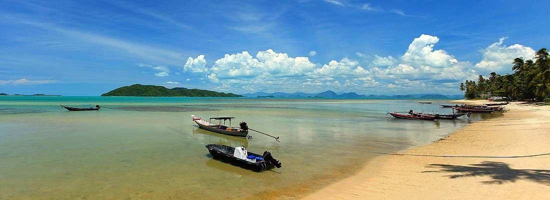 Spiaggia a Koh Samui.