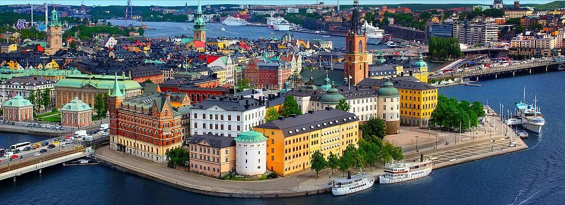 Stoccolma dall'alto.