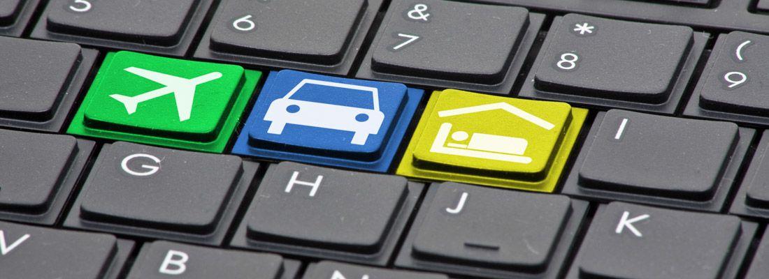 Concept di di una tastiera per computer.