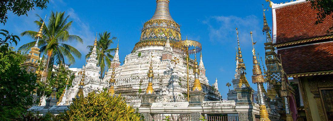Il tempio Saen Fang.