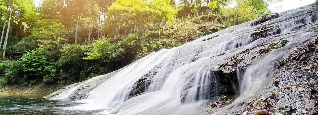 La cascata Yoro.