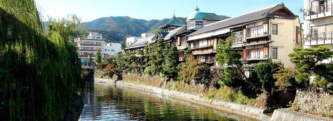 Panorama di Ito Onsen.