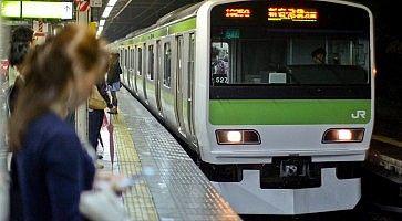 Yamanote Line a Tokyo.