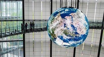 Interni del MiraiKan, Museo Nazionale delle Scienze e delle Innovazioni Emergenti.