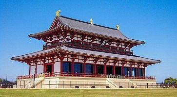 Il Palazzo Heijo a Nara.