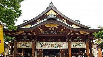 Il santuario Yushima Tenjin a Tokyo.