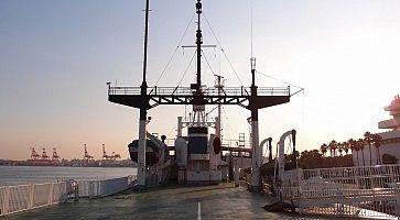 Dettaglio di una nave al Museo delle Scienze Marittime di Tokyo.