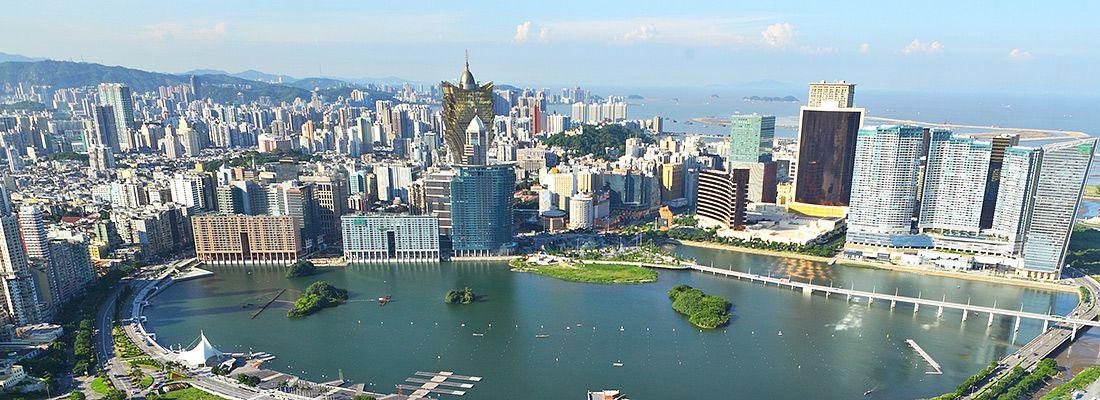Il panorama di Macao.