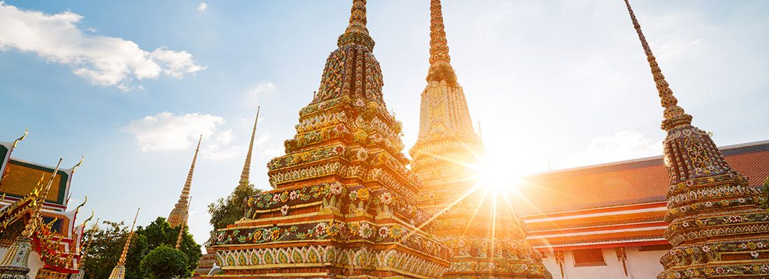 Il tempio Wat Pho.