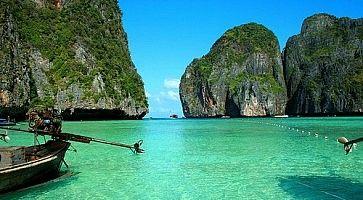 Mare cristallino alle Isole Phi Phi.